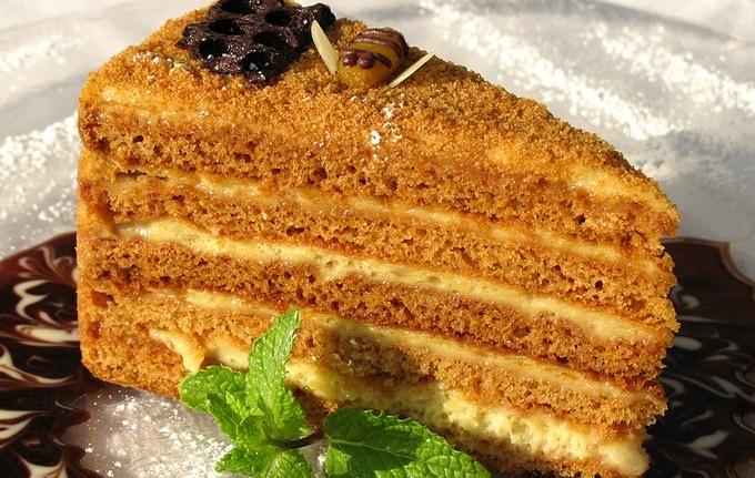 Рецепт вкусный торт медовик