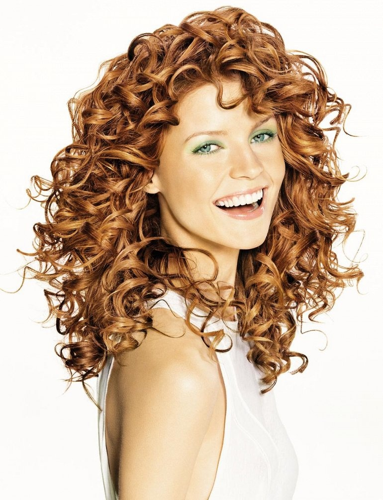 Кислотная химическая завивка для волос