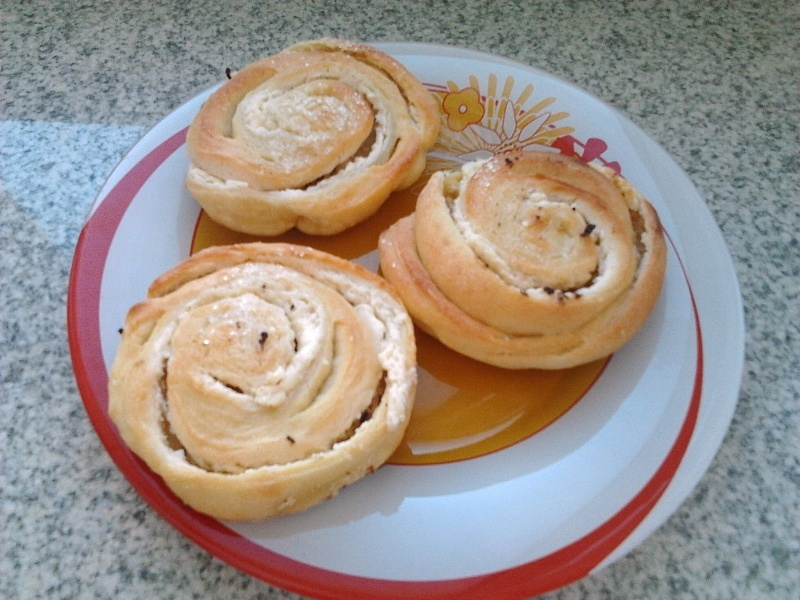 Улитки из творога рецепт с пошагово