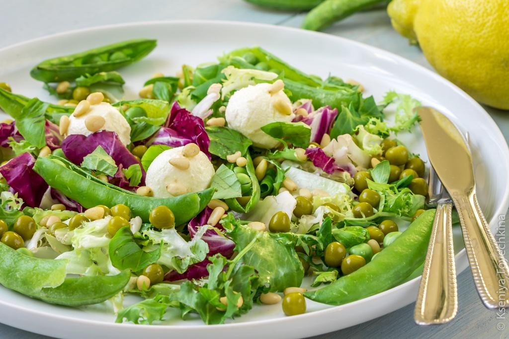 Салаты с зеленого горошка рецепты простые и вкусные