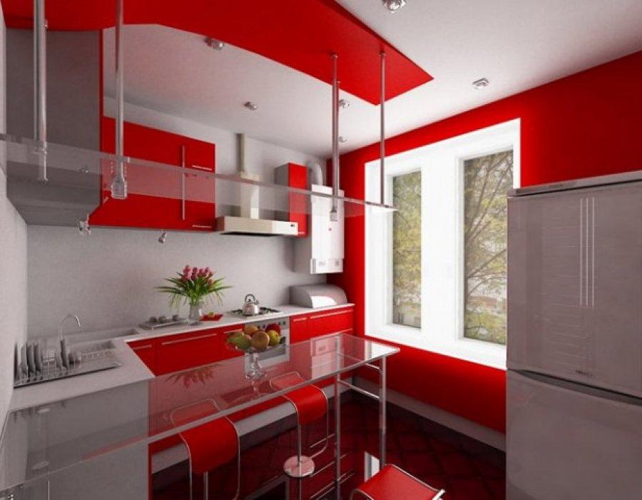 Интерьеры кухни в стиле хай тек фото