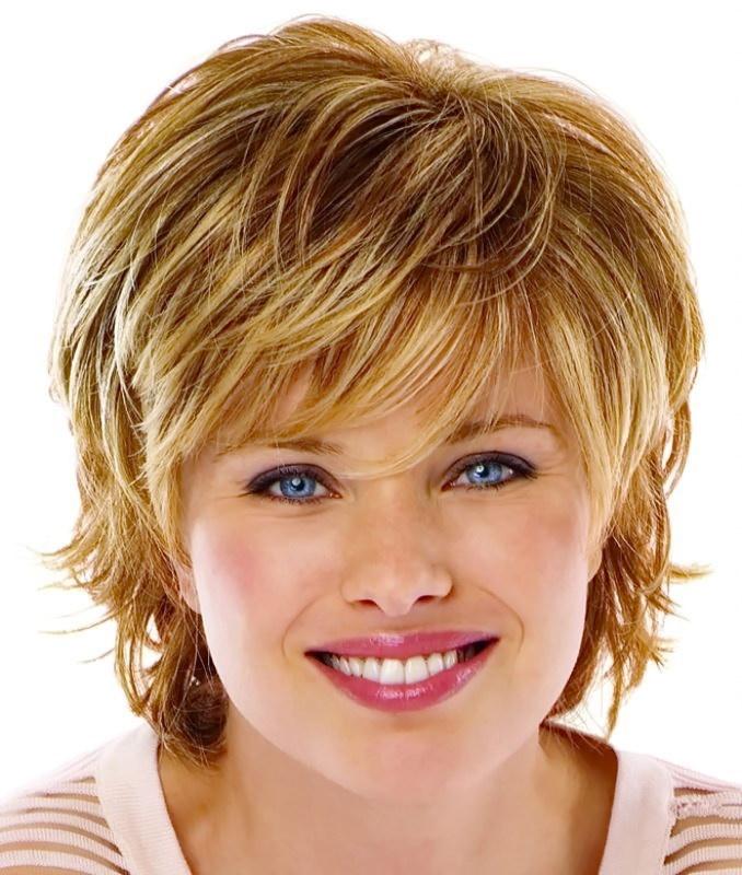 Прически на короткие волосы для полных женщин 40 лет