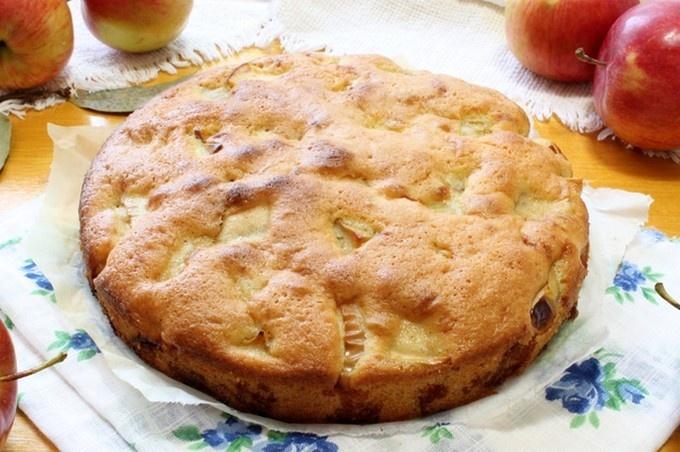 Простой пирог шарлотка рецепт с