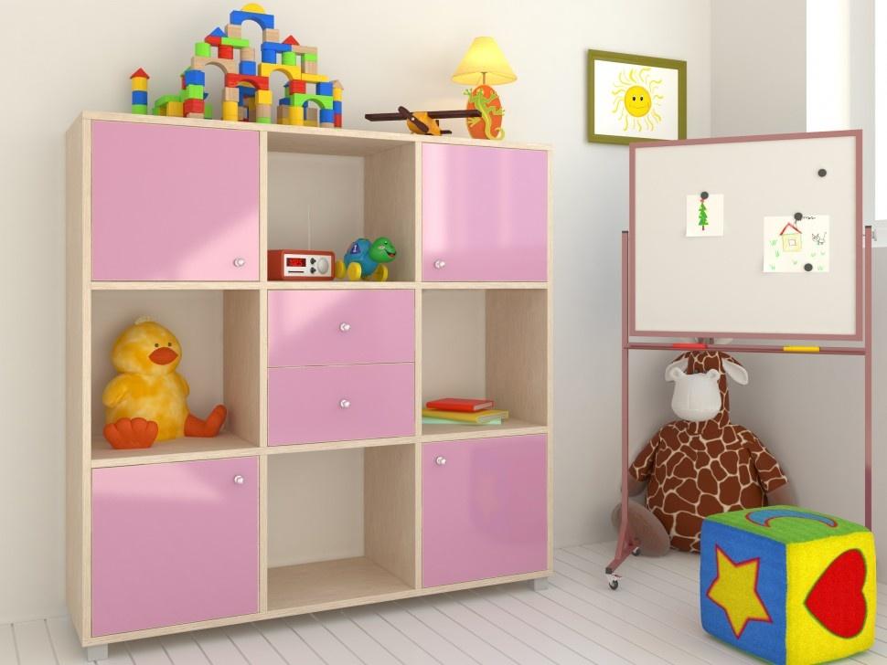 Стеллаж в детскую комнату