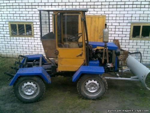 Картинки трактор своими руками