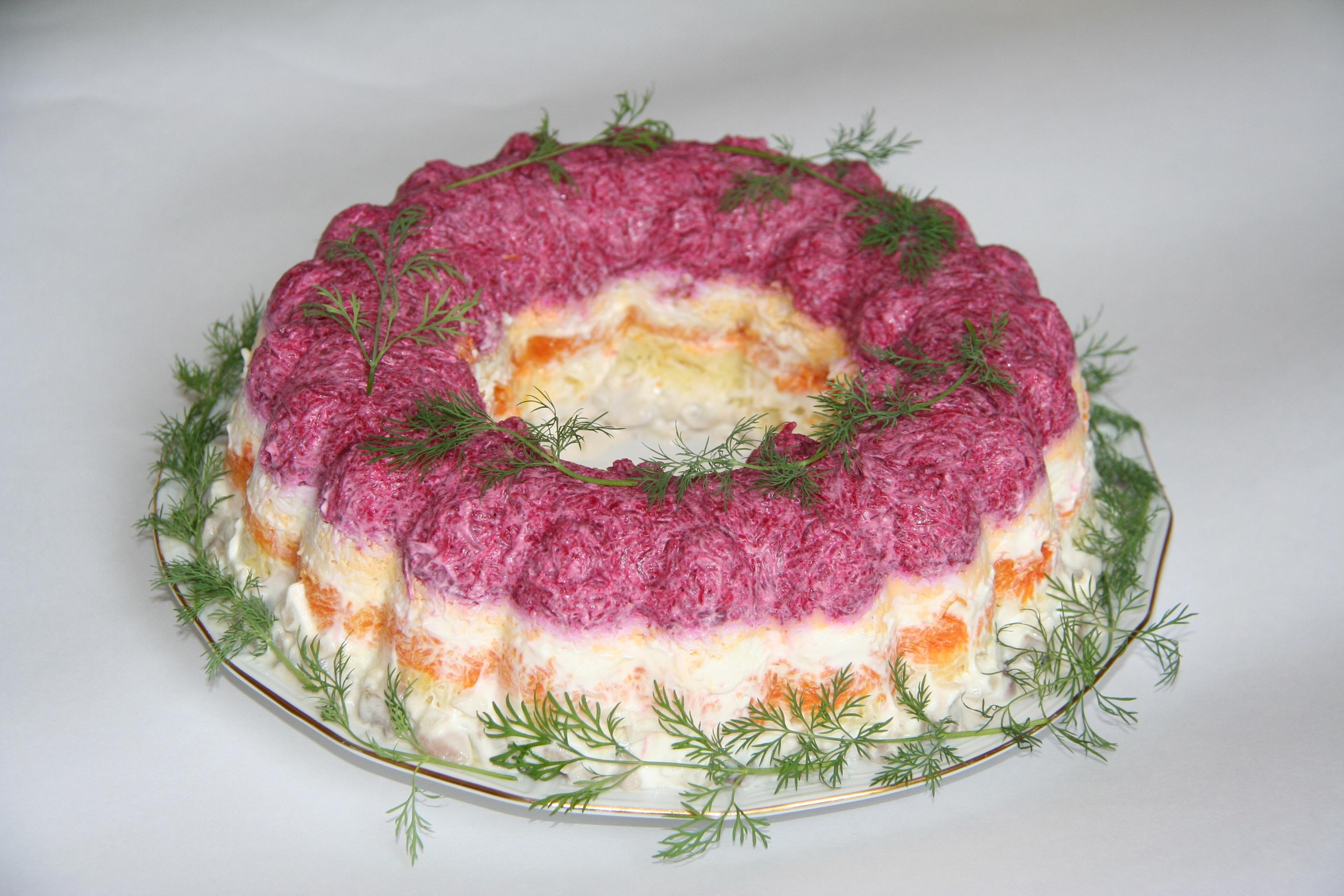 Салат селедкой рецепт фото пошагово