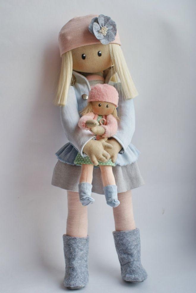 Куклы своими руками для девочек
