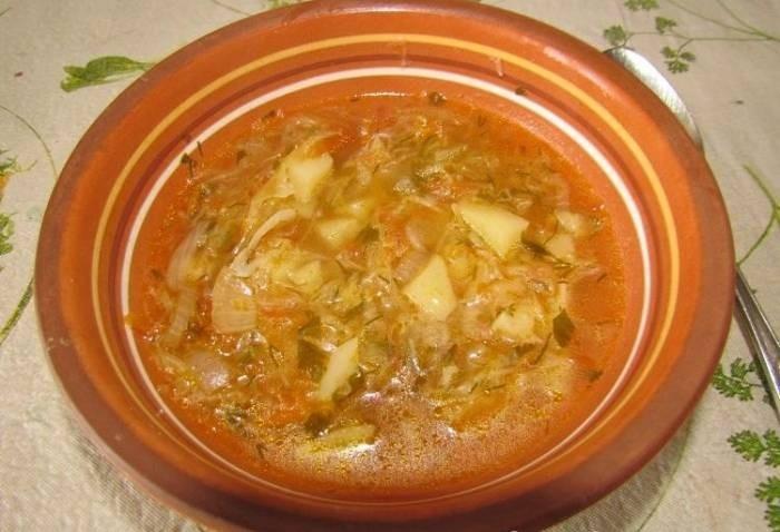 Рецепты с фото овощные супы в мультиварке