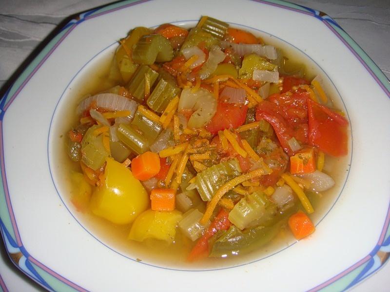 Рецепт супа из овощей для похудения