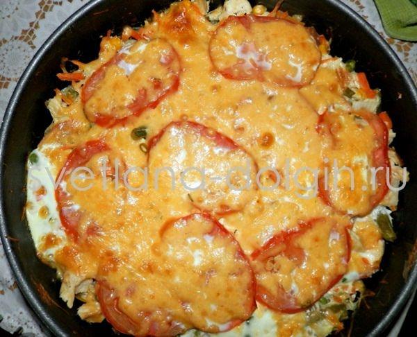 Овощная запеканка в духовке рецепт с пошаговый