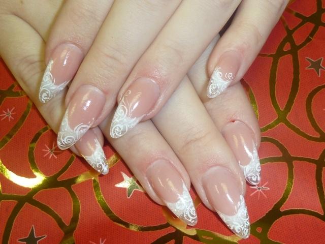 Фото нарощенных ногтей и форма