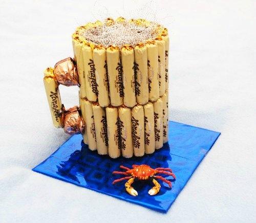 Торт из пива и конфет своими руками