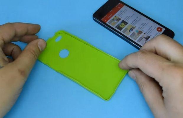 Чехол для телефона своими руками видео из кожи