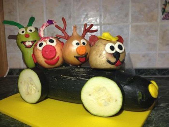 Делать своими руками из овощей