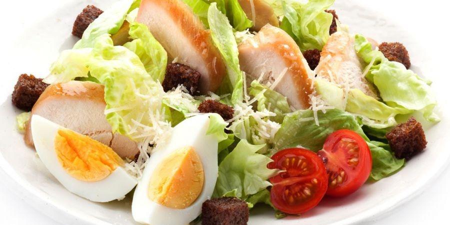 Салат цезарь лучший рецепт с
