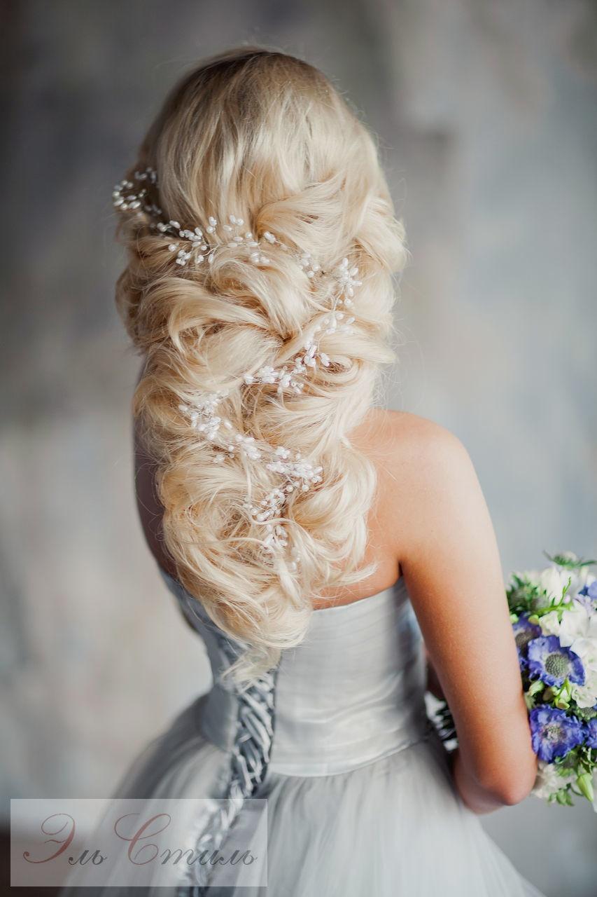 Невеста до прически и с прической фото