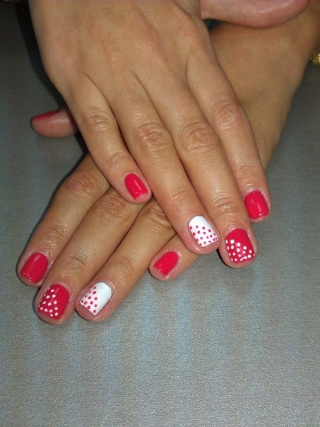 Шеллак дизайн на короткие ногти новинки