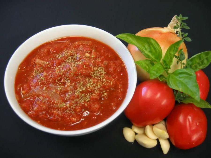 Рецепт томатной соуса из помидоров на зиму