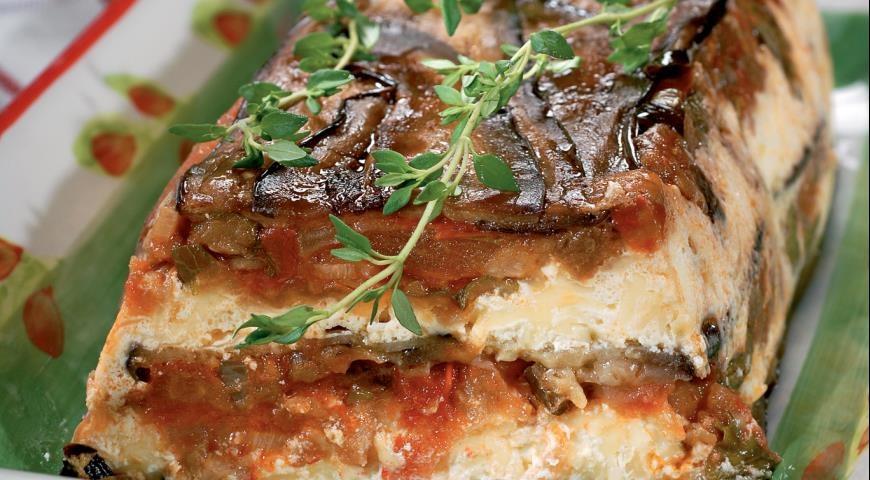 Запеканка с баклажанами и фаршем рецепт пошагово