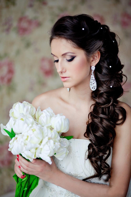 какие модные свадебные прически