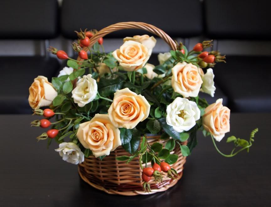 Керамическая флористика цветы