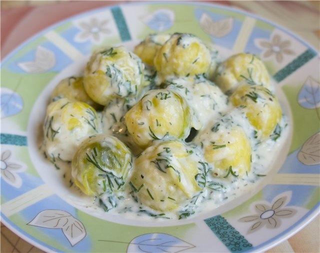 Рецепты приготовление брюссельской капусты