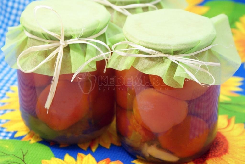 Рецепт помидор сладко острые
