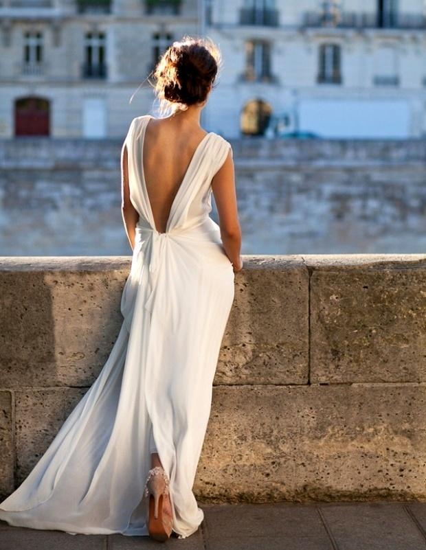 Фото девушек в вечерних платьях со спины