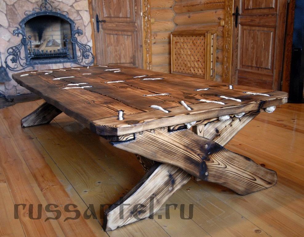 Деревянные мебель под старину своими руками