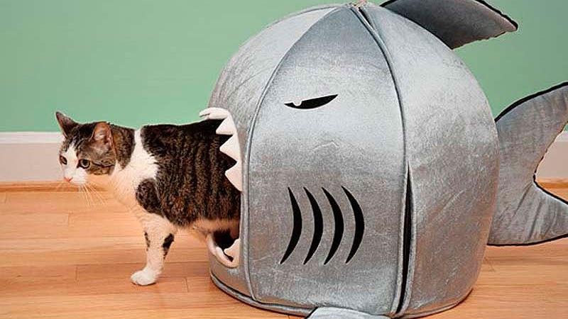Как сделать кошку из поролона
