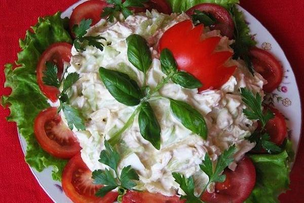 Вкусные новые салаты на юбилей рецепты с