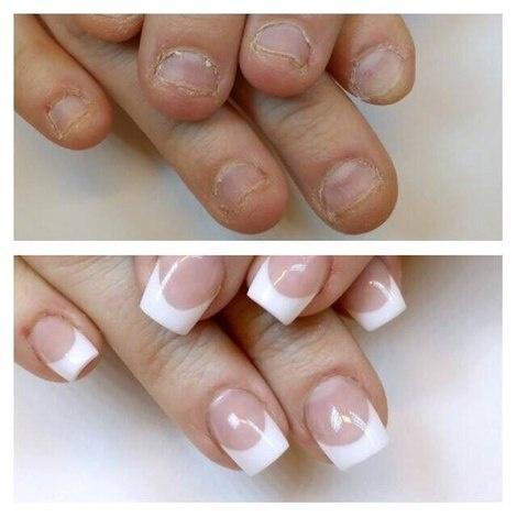Как наращивать ногти если ногти короткие