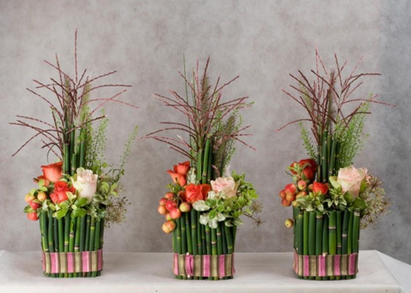 Искусственные цветы своими руками из материала