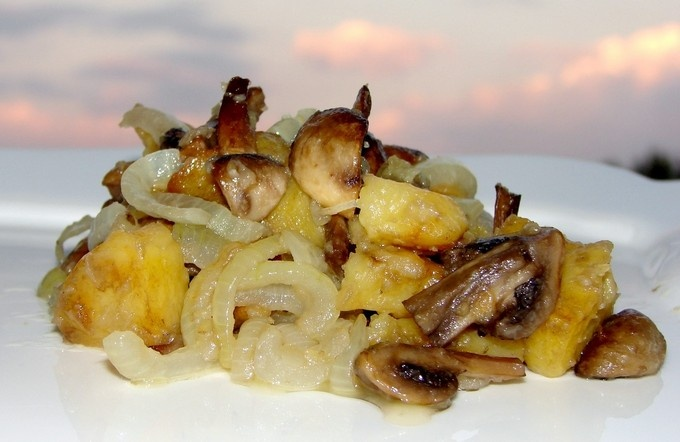 Рецепт опята жареные в сметане рецепт с пошагово в