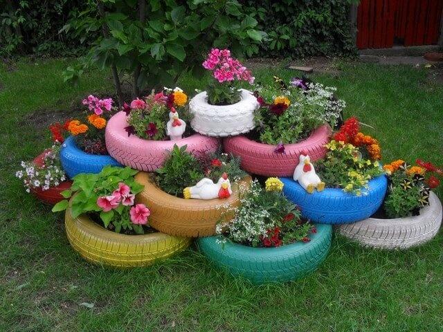 Красоту в саду своими руками