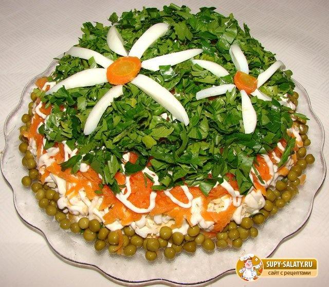 Рецепты вкусных салатов на день рождения с фото пошагово