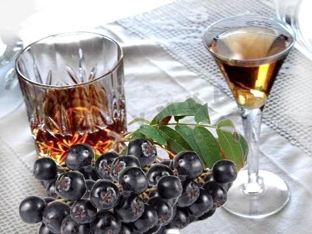 Черноплодная рябина ликер в домашних условиях рецепт