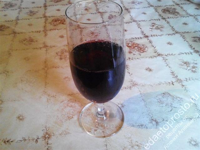 Рецепт вина из домашних слив