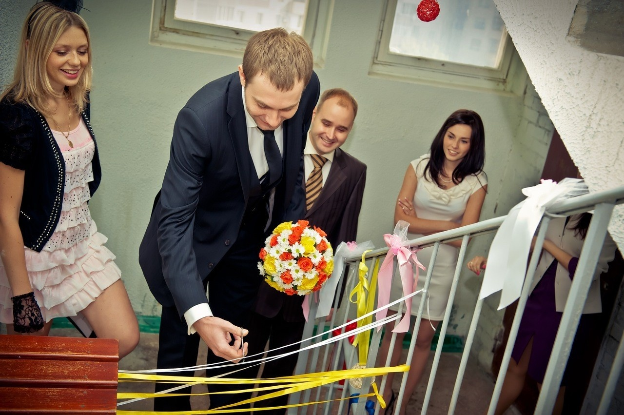 Выкуп невесты конкурсы лента