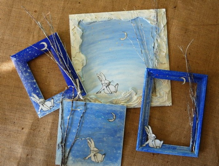 Декоративные рамки своими руками из бумаги