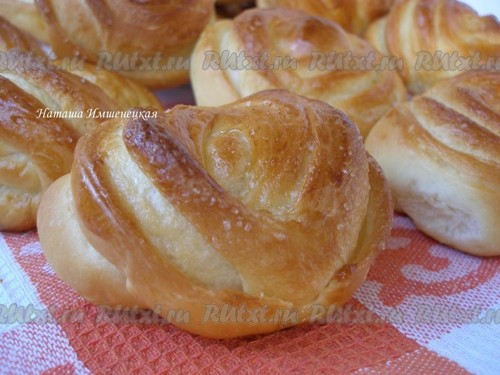 Рецепт теста на булочки с сахаром в духовке рецепт с пошагово