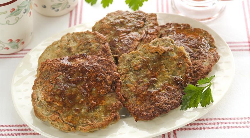 Пошаговый рецепт печеночных оладий из