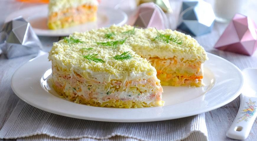 Салат мимоза рецепт классический