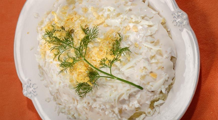 Салат мимоза рецепт с пошаговый фото рецепт