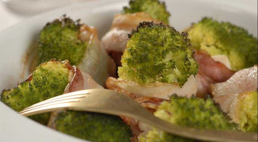 Рецепт брокколи и бекона