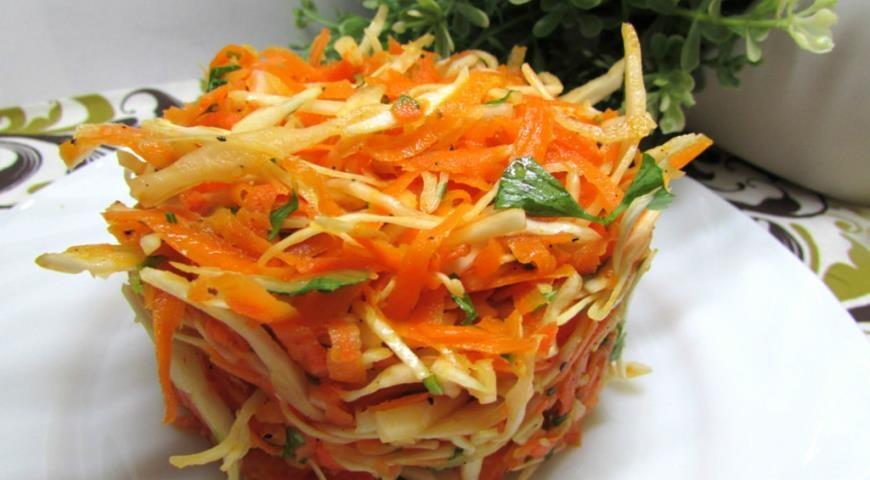 Салат с сырой тыквы рецепт с