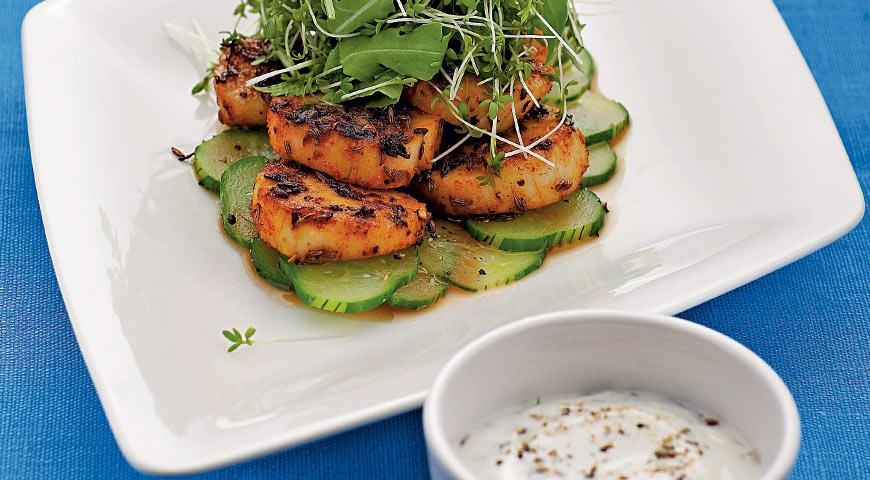 Рецепты блюд из морских гребешков с фото