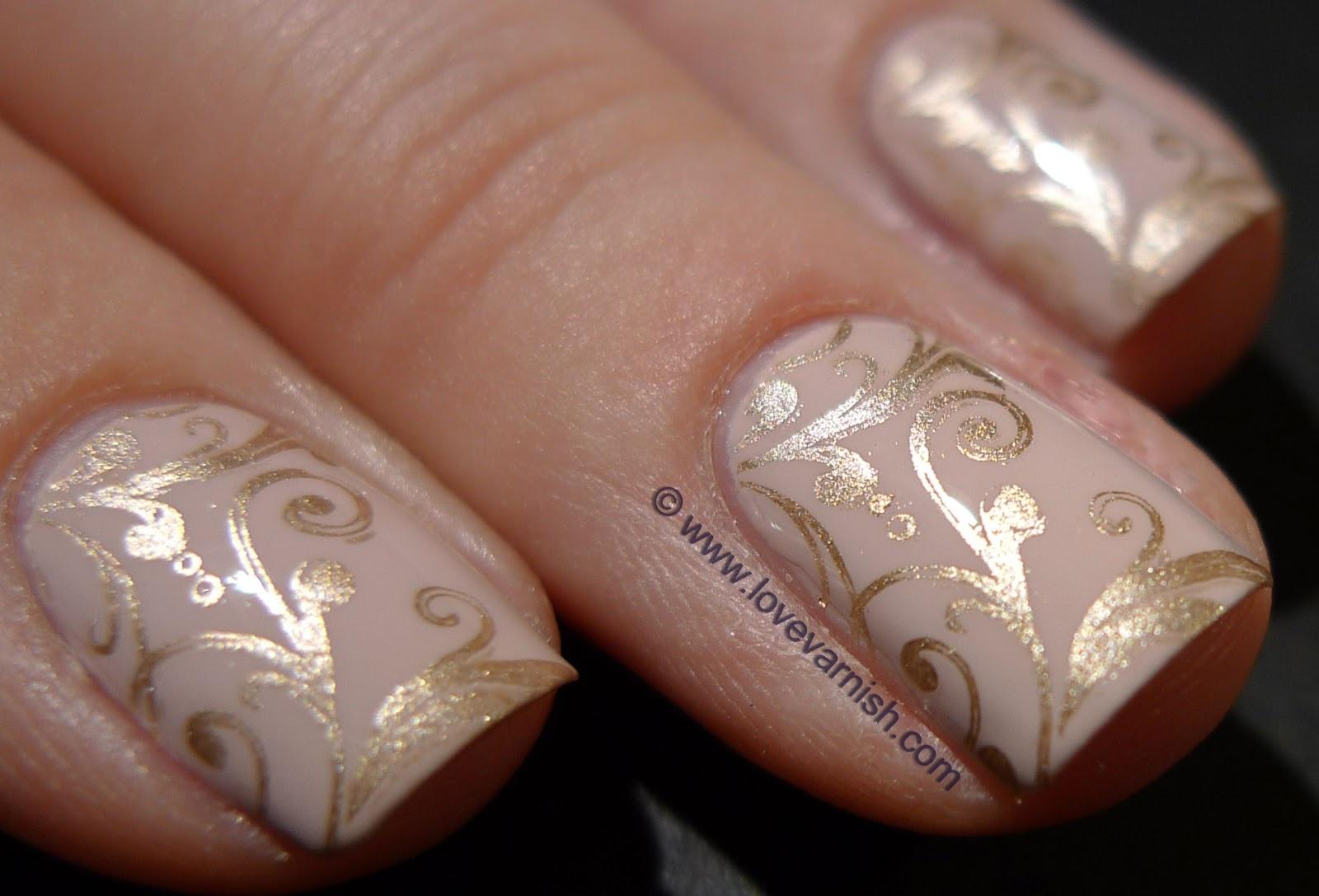 Бежевые ногти дизайн 2017-2018