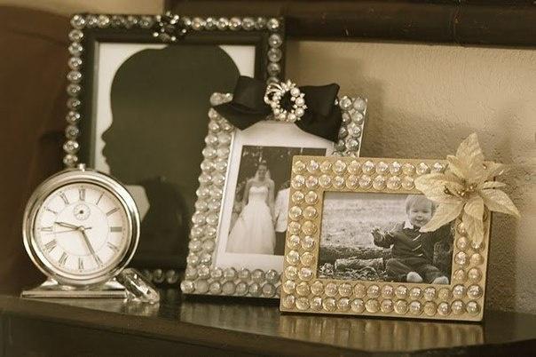 Рамки для фотографий украшаем своими руками