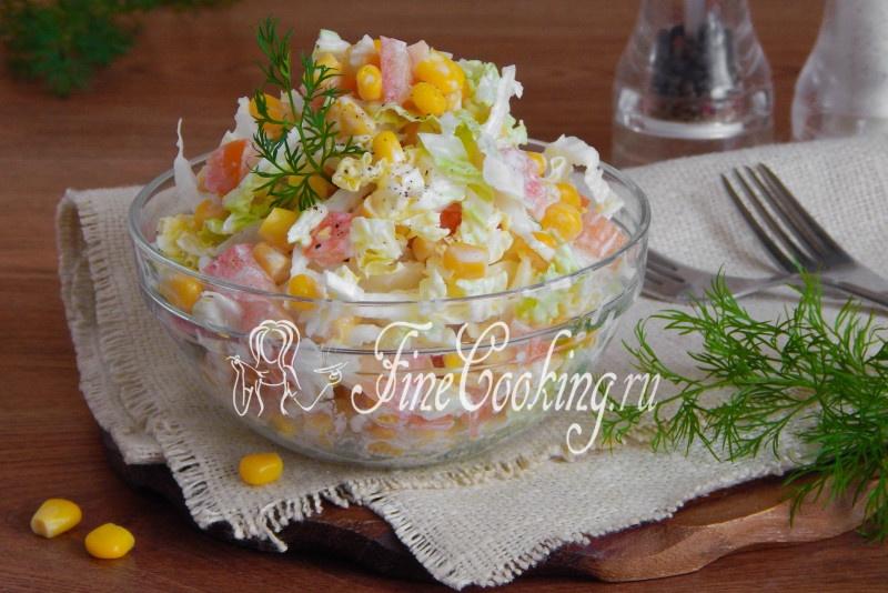 Вкусные салаты с пекинской капустой и рецептами
